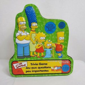 The Simpsons Trivia Game Collectors Tin Poster